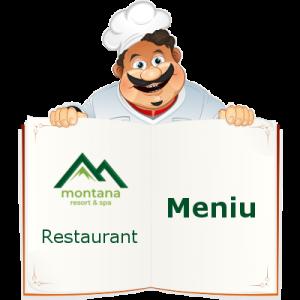 Meniu Restaurant - Montana Resort - Colibita